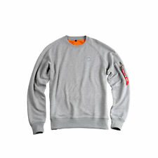 "ALPHA INDUSTRIES Sweatshirt ""X-Fit Sweat"" | Grey Heather (15832017) Herren Pulli"