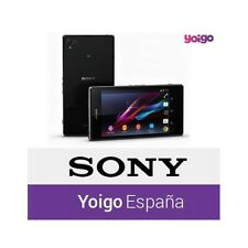 Liberar Sony Ericsson Xperia de Yoigo por IMEI. TODOS los Modelos Z1.XPERIAS.