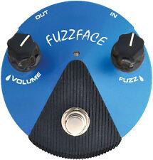 Jim Dunlop Silicon Fuzz Face Mini FFM1 Guitar Effects Pedal - Blue