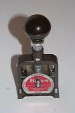 GBC Bates Numbering Machine 7AMULT 6 Wheels Style E With Box and Ink