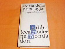 f-l. mueller storia della psicologia biblioteca moderna mondadori 1964 665 p.