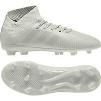 Adidas Nemeziz 18.3 Fg J 38 2/3 Enfants Football Entreprise Terrain Gris DB2353