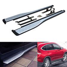 OE Aluminum Running Board Rail Side Step Nerf Bar Platform For 12-16 Honda CRV