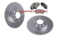 VAUXHALL INSIGNIA 1.6 1.8 2.0 CDTi (2009-) 2 REAR BRAKE DISCS AND PADS SET NEW