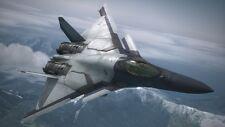 CFA-44 Nosferatu Ace Combat Series Airplane Handcrafted Wood Model Regular New