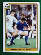 SUPERCALCIO 1985 1986  85 86 n 128 ANTONIO SABATO Figurina Sticker Panini NEW