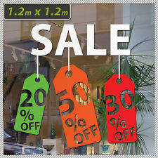 Vinyl Sign SALE 50% OFF Discount Lettering sticker decal shop front signage