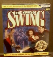 THE STORY OF SWING~4 CASSETTES AND 56 PAGE BOOK~MIB
