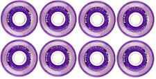 Labeda Millennium Indoor Inline Purple Hockey Wheels - 76/80mm HILO - 8 Pack
