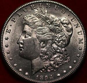 Uncirculated 1894-S San Francisco Mint Silver Morgan Dollar