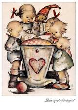"vintage unused  greeting cards  ARS SACRA   B.I.Hummel ""shepard boy""1424"""