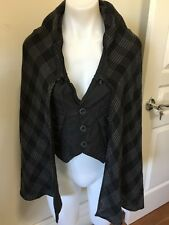 XS 8 DIESEL VEST WITH CAPE/SCARF ATTACHED *BUY FIVE OR MORE ITEMS GET FREE POST