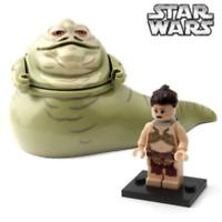 Custom Star Wars Princess Leia & Jabba The Hutt Set mini figure