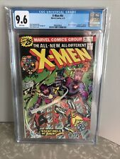 X-MEN 1976 #98 Jack Kirby & Stan Lee Cameo Sentinels CGC 9.6 White Pages