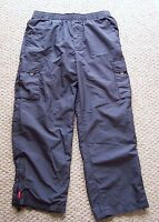 Hollister Pacific Merchants Lined Gray Snowboard/Ski Pants Size L Large