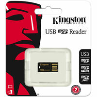 Kingston USB microSD microSDHC MicroSDXC Memory Card Reader FCR-MRG2 16 32 64 GB