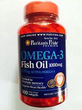OMEGA 3 FISH OIL 100 x 1000MG FOR HEART AND BONE HEALTH OSTEOARTHRITIS FREE POST