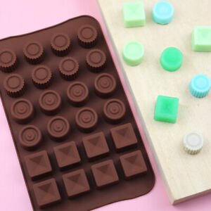 Silicone Mould Cake Decorating Chocolate Baking Mold Wax Melts Ice Festive Gifts