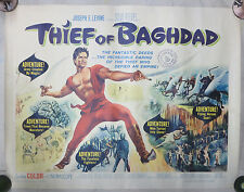 The Thief Of Baghdad (1961)US Half Sheet That Did Time In Canada! 22x28 S.REEVES
