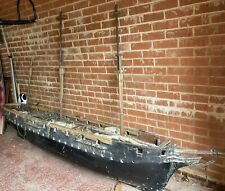 More details for antique victorian very large boat builders / naval cadet training model