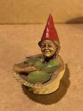 """Tom Clark Gnome """"Bubbles"""" Bathing in a Sea Shell #1062 Cairn Studio"""