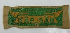 "Authentic Vietnam War Boy Scout Patch ""Sap San"" Guaranteed Made before 1975"