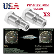 Oxygen 02 Sensor Spacer Adapter Bung Catalytic Converter Fix Check Engine Light Fits 2007 Sportage
