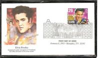 US Scott # 2721 Elvis Presley FDC. Fleetwood Cachet. 1