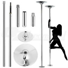 Professional Dancing Dance Pole Set Spinning Static Portable Stripper Fitness