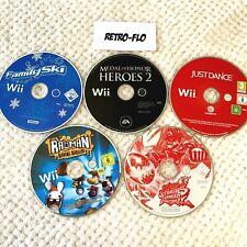Lot 5 Jeux Nintendo Wii à Restaurer