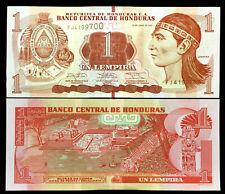 Honduras 1 Lempira Banknote World Paper Money UNC Currency Bill Note