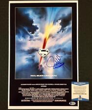 Director RICHARD DONNER Signed SUPERMAN 11x17 Movie Poster Photo BAS Beckett COA