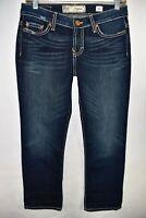 Buckle BKE Payton Womens Crop Capri Jeans Size 26 Stretch Meas. 28x27