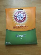 Bissell Vacuum Bags Style 7 Arm And Hammer Odor Eliminating 3 Pack