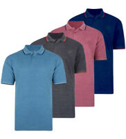 Mens KAM BIG Fashion Polo Shirt Short Sleeve Casual Cotton Rich Summer 2-8XL