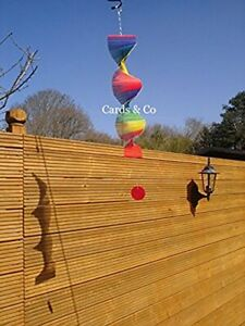 Magical Gift Store Twisted Rainbow Wind Chime
