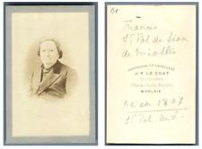 J. F. Le Coat, Monsieur Francis Saint Pol de Léon de Miollis  CDV vintage albume