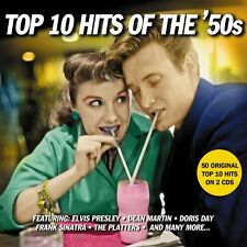Top 10 Hits Of The '50s - 50 Original Top 10 Hits (2CD) NEW/SEALED