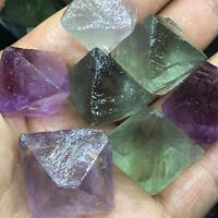 100g big Natural beautiful Fluorite Crystal Octahedrons Rock Specimen China AAA