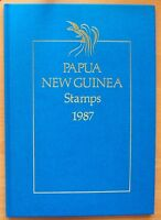 1987 PAPUA NEW GUINEA YEAR BOOK MINT STAMPS