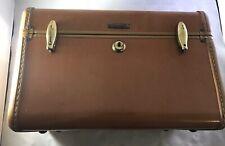 Vintage Samsonite Brown Ladies Train Make up Case Shwayder Bros Denver 4612