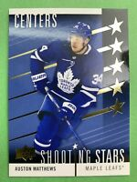 2019-20 Upper Deck SR1 Shooting Stars #SSC-3 Auston Matthews Toronto Maple Leafs
