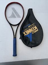 "Pro Kennex Graphite Comp Tennis Racket 4-3/8"" LEATHER Grip"