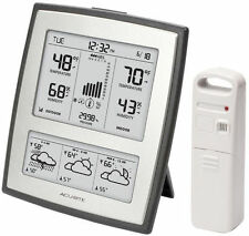 AcuRite 02037W Weather Station With Morning Noon & Night Forecast Thermometer