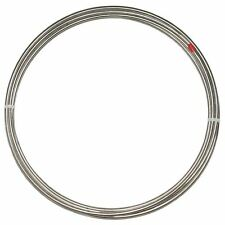 "3/16"" Stainless Steel Brake Tubing; 25' Roll"