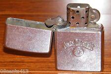 Vintage Jack Daniels Old No. 7 Brand Zippo Lighter Street Chrome Made in U.S.A.