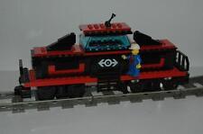 Lego 9V Eisenbahn TRAIN 4565 Lok Rote Güterlok inkl. Motor CARGO ENGINE