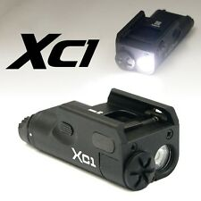 Black Hunting XC1 Tactical Ultra-Compact LED Mini Flashlight For Handgun Pistol