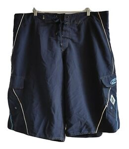 Ed Harry Men's Easy Street Shorts Size 2XL Brand New Navy Polyester Casual