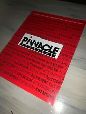 Pinnacle Speakers Dealer Brochure-articles Reprinted From Stereo Review
